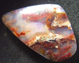 CRAZY AGATE POLISHED  STONE   23.35 CTS   [MX3178]