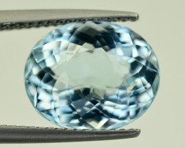 5.50 CT FANCY  CUT AQUAMARINE GEMSTONE