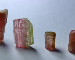 42.20 Cts Beautiful, Superb Pink Tourmaline Crystal Lot