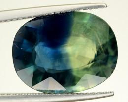 10.80 Ct Natural Bi~Color  Sapphire Gemstone