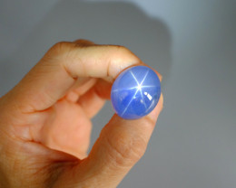 GRS 53.17ct Jumbo Blue Star Sapphire, Unheated