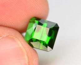 Top Grade 3.05 ct Natural Green Color Tourmaline