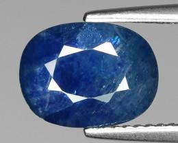 BLACK FRIDAY 2.87 Cts Blue Sapphire Sparkling Intense SA2