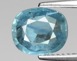 2.41 Cts Blue Sapphire Sparkling Intense SA5