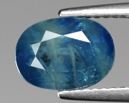3.82 Cts Blue Sapphire Sparkling Intense SA6