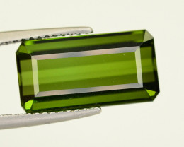 7.50 CT NATURAL PARROT GREEN COLOR TOURMALINE GEMSTONE