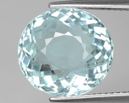 7.61 Cts Aquamarine Awesome Luster and Cut ~ AQ23