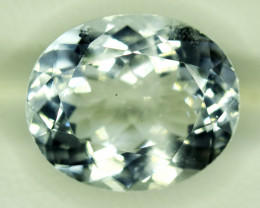 NR Auction 6.75 CT Natural Cushion Cut Aquamarine Gemstone