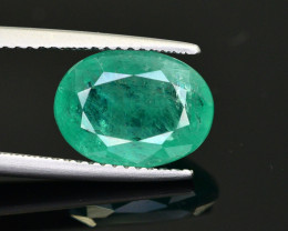 3.40 Ct NaturaL Zambian Emerald Gemstone