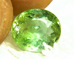 4.27 Carat African Green SI Tourmaline - Lovely
