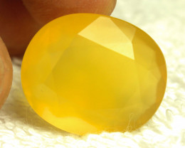 21.68 Carat Yellow / Gold Mexican Fire Opal - Gorgeous