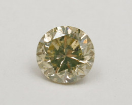 1.21ct Natural Light Yellow Diamond IGI certified
