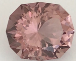 Designer Cut Dusty Pink 4.5ct Tourmaline,   REDUCED  H718