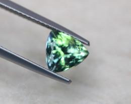 1.81Ct Natural Greenish Violet Blue Tanzanite Trillion Cut Lot LZ3720