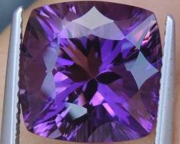 "6.87cts, ""Master Cut"" Amethyst,   Clean, Untreated,"