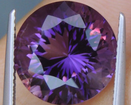8.06cts, Amethyst,  Top Cut, Clean, Untreated,