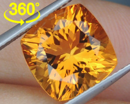 "5.20cts Precision Cut ""Lolipop"" Citrine - 360 Video"