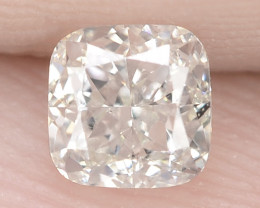 """0.45 Cts Untreated White """"G"""" Color Natural Loose Diamond- VVS2"""