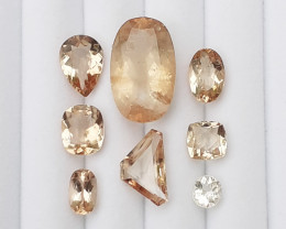 45.50Cts  Nice Colour Brown Topaz Gems..