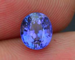 AAA Grade 1.11 ct Tanzanite eye catching Color SKU.18