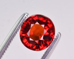 Reddish Orange Color 1.70 Ct Natural Spessartite Garnet A