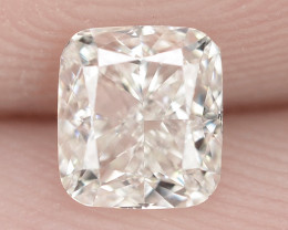 """0.40 Cts Untreated White """"G"""" Color Natural Loose Diamond- VVS2"""