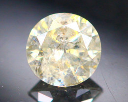 Diamond 0.27CtNatural Brilliant Round Cut Fancy Color Diamond 03CF02