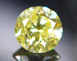 Diamond 0.25Ct Natural Brilliant Round Cut Fancy Color Diamond 03CF23