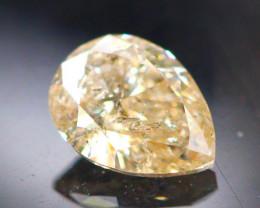 Diamond 0.26Ct Natural Champagne Color Fancy Diamond 03CF33