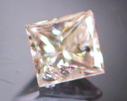 Diamond 0.19Ct Natural Princess Cut Fancy Color Diamond 03CF40