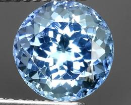 3.00 CTS SPECTACULAR NATURAL ULTRA RARE LUSTER BLUE TANZANITE