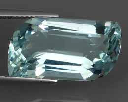 11.65 cts Nice Quality Natural Aquamarine  Untreated fancy Shape