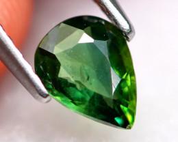 Green Sapphire 0.78Ct Natural Green Sapphire D0605