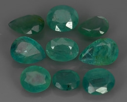 4.70 Cts World's Rarest Gem Natural Green Grandidierite Wonderful!