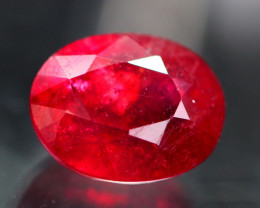 Ruby 4.97Ct Madagascar Blood Red Ruby D0630
