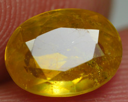2.20CRT TRANSLUCENT  YELLOW SAPPHIRE FACETED
