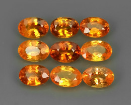 5.50 CTS BRILLIANT NATURAL LUSTER FANTA ORANGE SPESSARTITE AWESOME NR!!