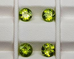 3.45Crt Peridot Natural Gemstones JI54