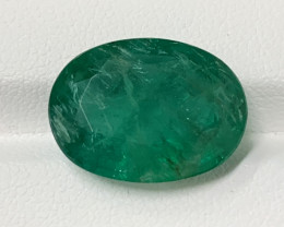 10.55 Natural color Emerald gemstone