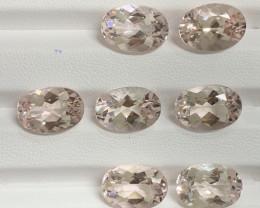 30.92 Carats Morganite Gemstones