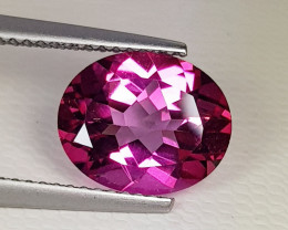 4.25 ct AAA Quality Gem Stunning Oval Cut Natural Pink Topaz