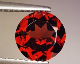 1.87 ct AAA Quality Gem Round Cut Top Luster Rhodolite Garnet
