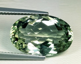 10.15ct Top Quality Fantastic Oval Cut Natural Green Amethyst