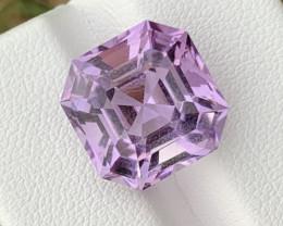 10.30 Carats Asscher cut amethyst gemstone