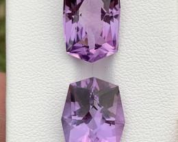 16.70 Carats fancy cut amethyst gemstones