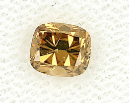 0.60ct Natural Fancy Deep Yellow Diamond GIA certified  VS2