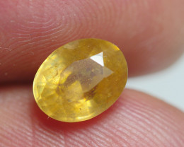 2.30 CRTBEAUTY TRANSLUCENT YELLOW SAPPHIRE FACETED-