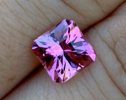 2.66 ct Congo Tourmaline Pink-Peach - Custom Cut by BlueTourmalineQueen