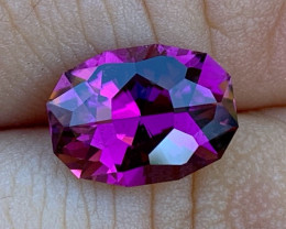 3.63 ct Neon Purple Tourmaline - Cut by BlueTourmalineQueen