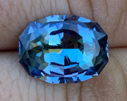 GIA Certified 8.02 ct Tanzanite - Competition Level Cut by BTQ